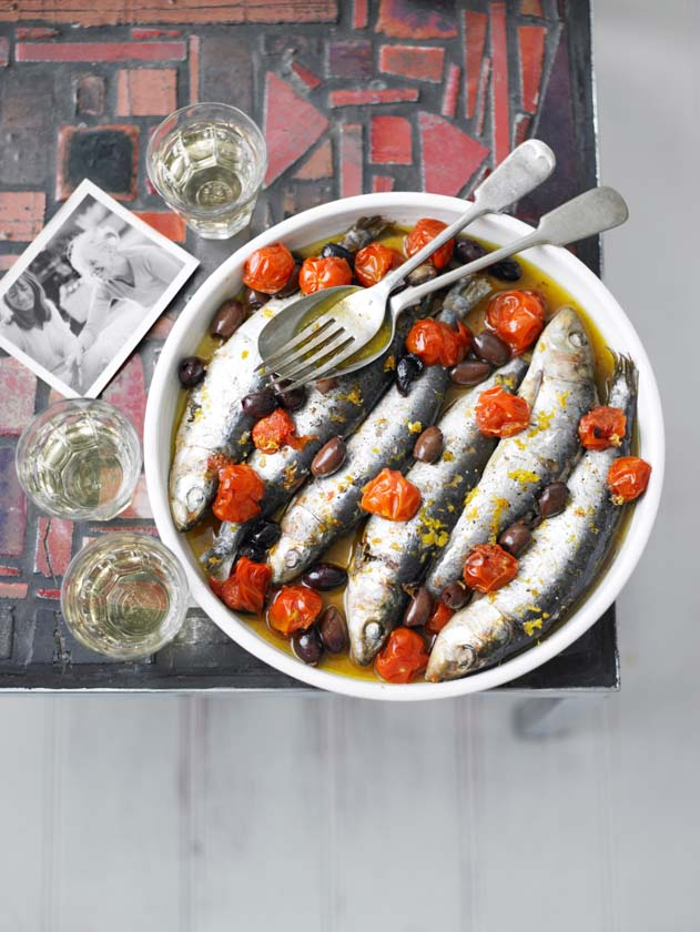 River Cafe roast Sardines / Olive Mag / Miles New