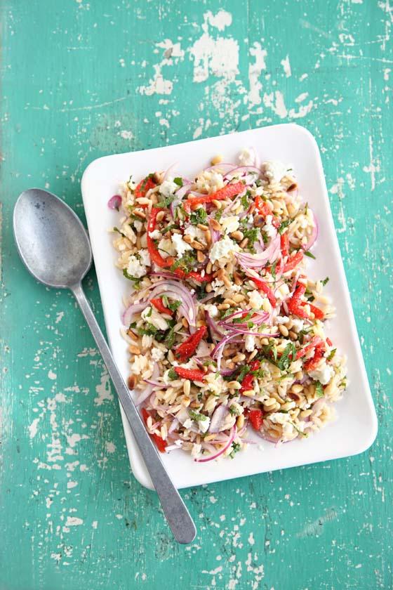Orzo and feta salad / Olive Mag / Lis Parsons