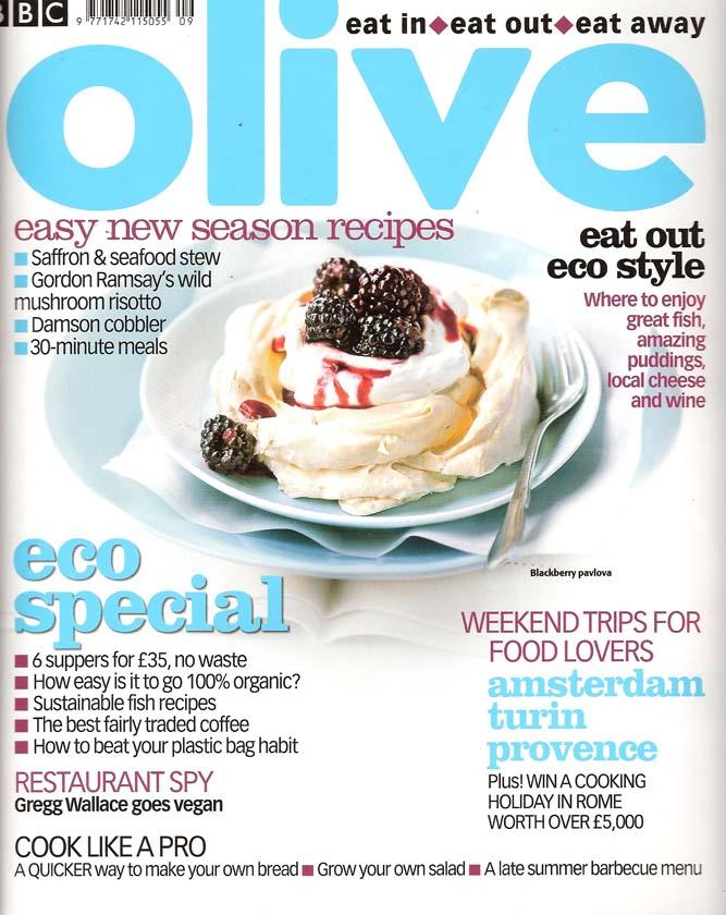 Olive mag blackberry pavlova
