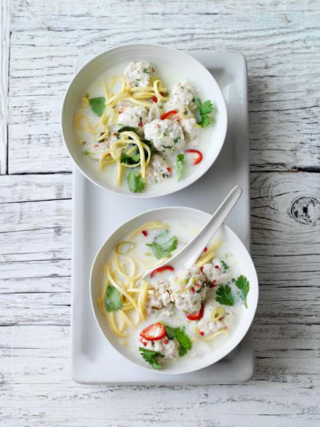 Olive-Thai-chicken-soup