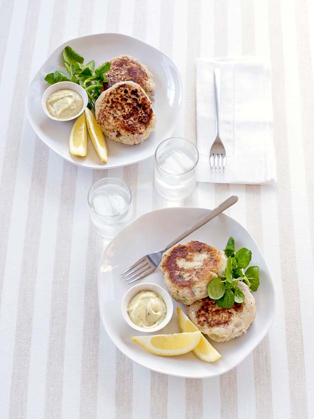 olive every day food Tuna & caper fishcakes